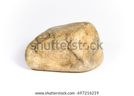 Isolated close-op of a rock.