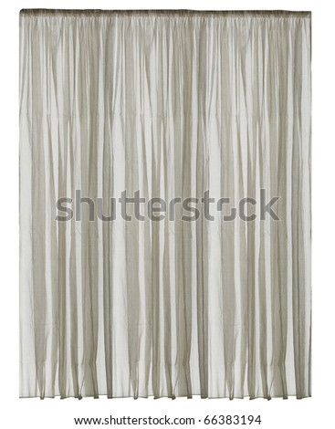 isolated curtain