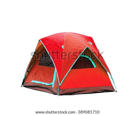 Isolated dome tents with clipping path #389081710
