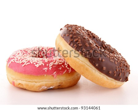 isolated donuts