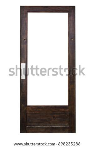 isolated door #698235286