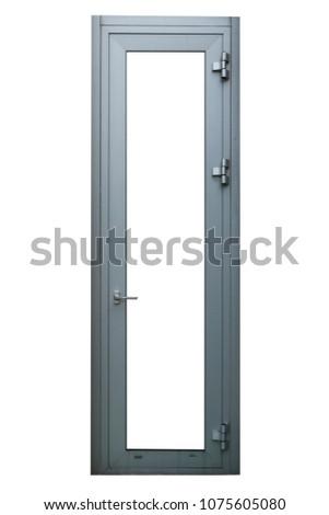 isolated  door background #1075605080