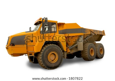 Isolated dump truck