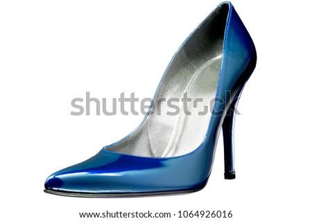 isolated high heel pump shoe #1064926016