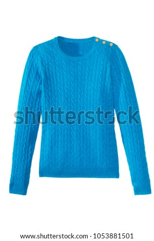 isolated knit sweater