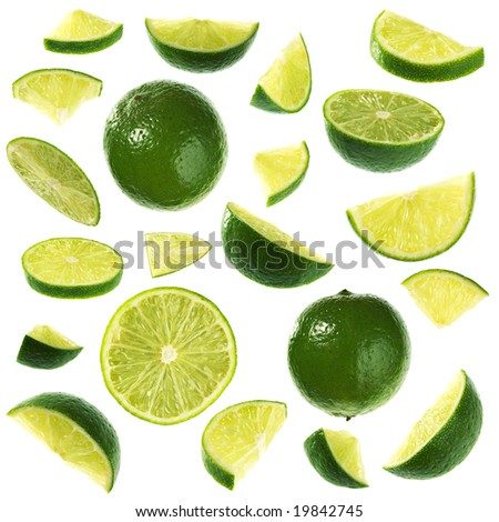 Isolated limes collection