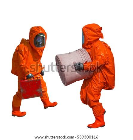 Industrial Craft  Hazmat Suit