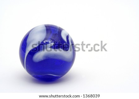 Isolated Marble Macro - great detail & color