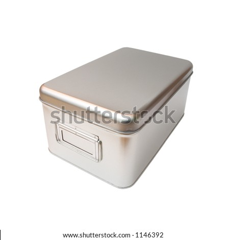 isolated metal box