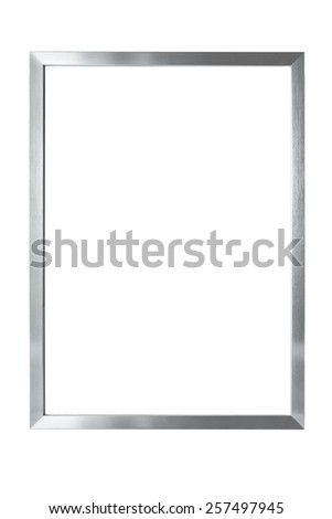 Isolated metal frame #257497945