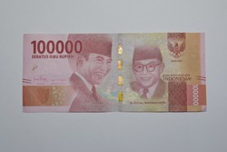 Isolated Money of Indonesia, Rupiah
