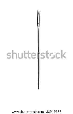 isolated needle #38919988
