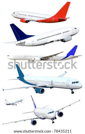 isolated passenger jets, isolated