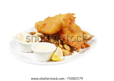 Fish and Chips Logo http://www.shutterstock.com/pic-75082579/stock-photo-isolated-plate-of-english-style-fish-and-chips-with-tarter-sauce-and-coleslaw.html