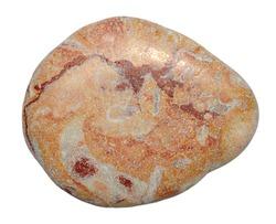 Isolated sea stone