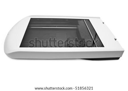 isolated skaner on a white background Zdjęcia stock ©