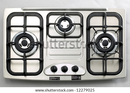 Isolated Stainless Steel Gas Burner 3
