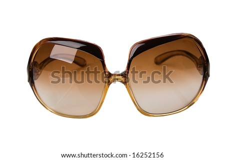 isolated sunglasses with white background