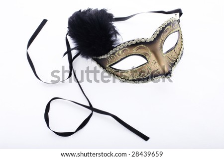 theatre mask clipart. Isolated theatre mask on