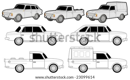 Isolated various car modifications.