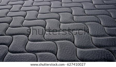 isolated white background mattress #627410027