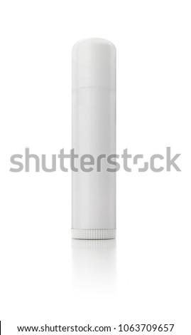 Isolated White Lip Balm #1063709657