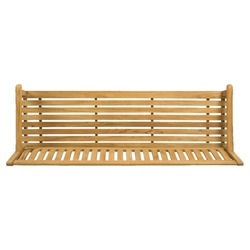 isolated wooden park bench from top view on simple white background ( that easily removable ) to use in architectural planning, landscape planning, masterplans and other similar projects