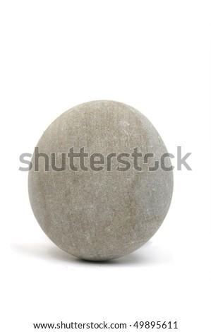 Isolated zen stone