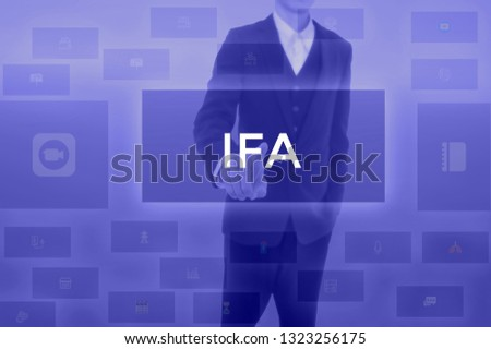 Issued For Approval or Integrated Facility Management - business concept #1323256175