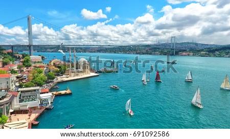 Istanbul Bosphorus Bridge, Turkey