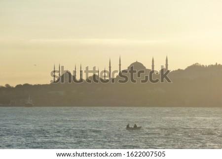 Istanbul'da kayik ile gezinti yapmak Stok fotoğraf ©
