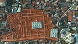 ISTANBUL GRAND BAZAAR ROOFS PANOROMIC