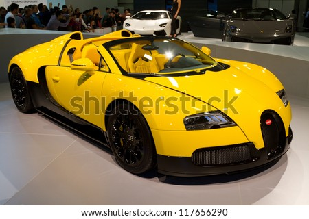 istanbul november 03 bugatti veyron super sport eb 16 4 at istanbul auto show 2012 on. Black Bedroom Furniture Sets. Home Design Ideas