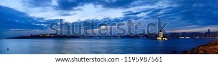 istanbul, panorama, bosphorus