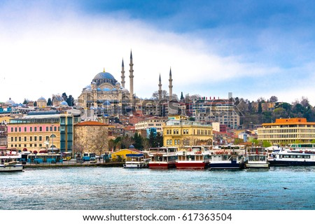 Istanbul the capital of Turkey.