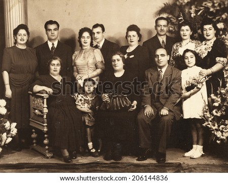 istanbul turkey  circa 1940s  ...