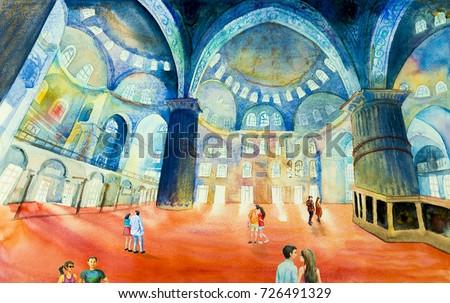 istanbul  turkey  people are...