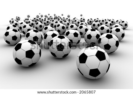 It is a lot of balls