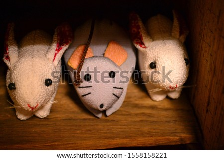 It is a mouse of handmade Japanese miscellaneous goods.  #1558158221