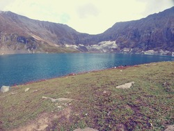 it is a picture of lake located in Neelum Valley, Azad Jammu and Kashmir.it is called