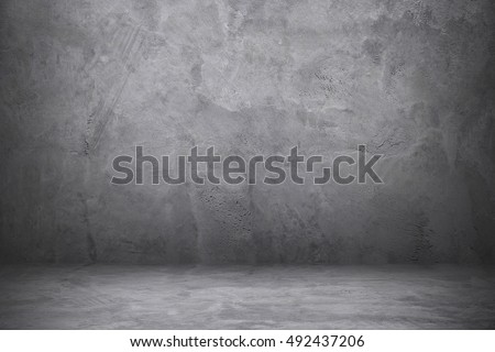it is cement and concrete wall and floor with shadow.