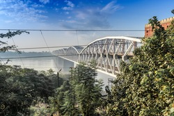 It is one of the major bridges on the Ganges river.  As the bridge is near Rajghat, it is also locally known as Rajghat bridge. Malviya Bridge is between Kashi, Varanasi and Mughal Sarai