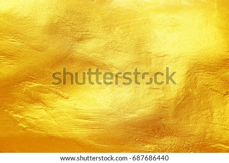 it is shiny gold texture background for design. #687686440