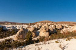 It is worth seeing the formations and fairy chimneys shaped by erosion.Doger.Afyon.turkey.