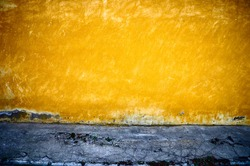It is yellow - a dark blue background in style grunge.