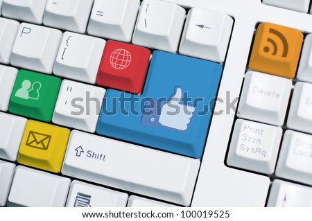 IT Keyboard. IT take an important role in all aspect of life such as work, social, and relationship.