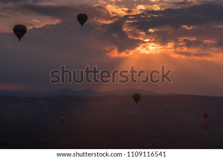 It's a beautiful world up there. Hot Air Balloons is one of the best activity one can do at Cappadocia Turkey. It's an amazing experience not to be missed . You can see lovely drama of the sky .