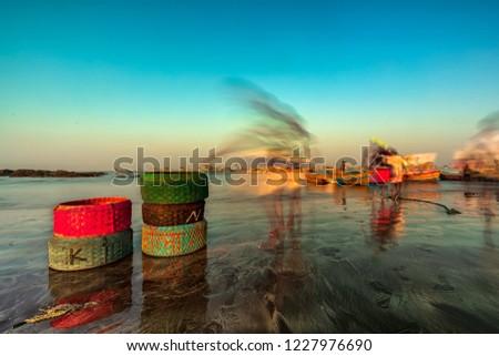 It's time to go Fishing... Uttan Beach