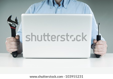 it support - stock photo