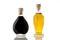 italian balsamic vinegar of Modena and olive oil